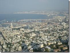 haifa bay of haifa from hotel