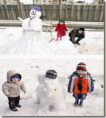 snowman with article two 2008 _