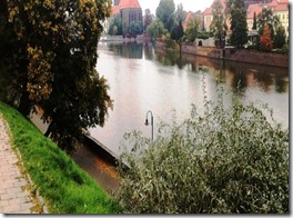 wroclaw  oder river