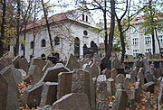1old jewish cemetary in prague80px-Cimitero