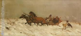 josef chemowsky - winter in poland