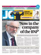 jewish chronicle front page